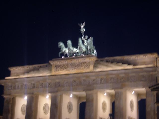 Paseo por Berlin de noche