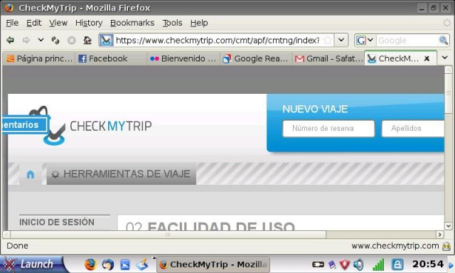 Donde consultar tus reservas de vuelos: Check my trip y Virtually There