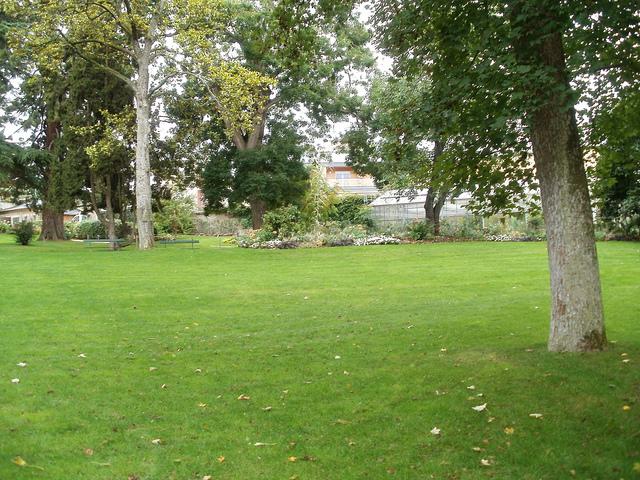 Jardin de Plantes de Poitiers, parque botánico