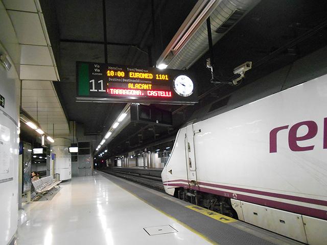 Guía práctica sobre los trenes Euromed