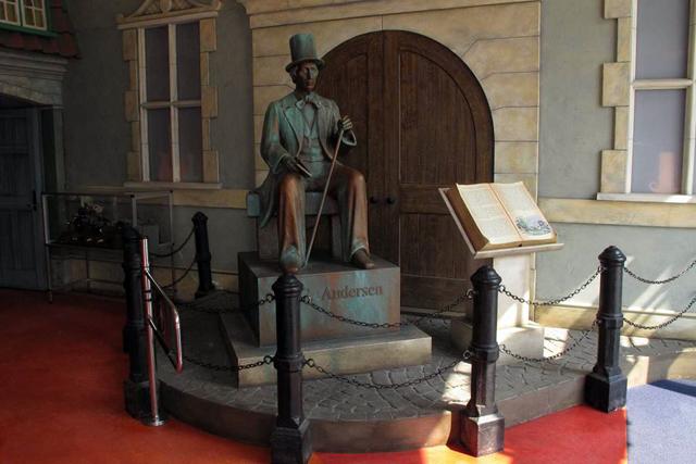El original museo de H.C. Andersen en Copenhague