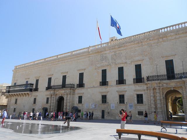 El Palacio del Grand Maestre Malta, una residencia a medida de un rey