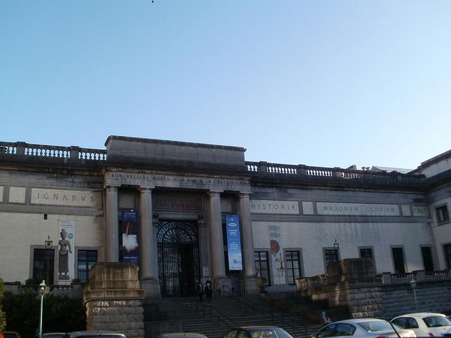 Museo Cinquantenaire, América en Bruselas