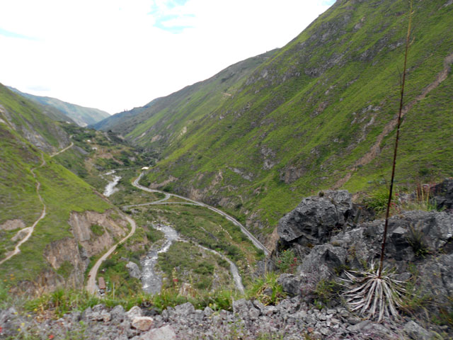 Uno de los paisajes del recorrido del tren del Diablo