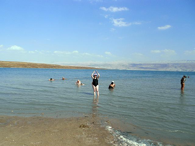 Kalia Beach, playa del Mar Muerto, Israel