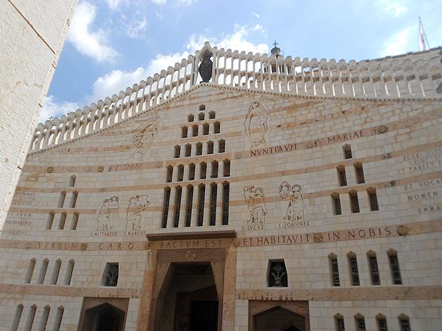 Recorrido por lugares bíblicos (I): Basílica de la Anunciación, Nazaret