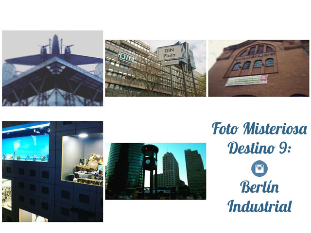 Foto Misteriosa Destino 9 Berlín Industrial