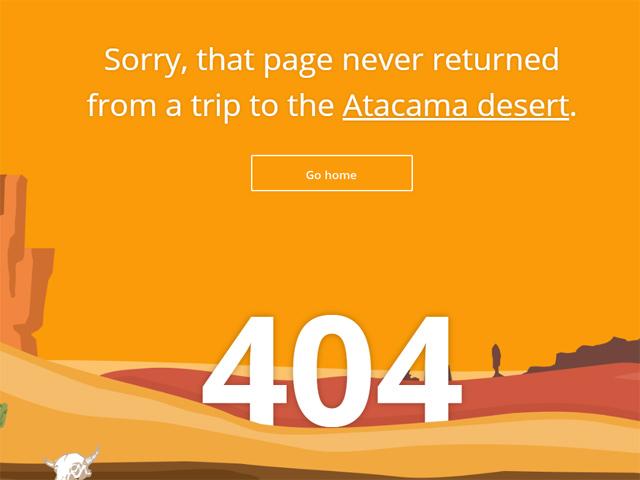 Página de Error de Triptomatic. Obtenido de Time 404 Forever: 10 of the Web's Best Error Pages http://time.com/3478874/best-404-error-pages/