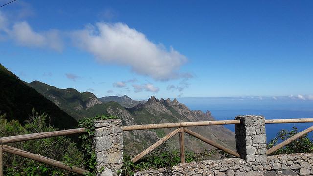 Senderismo en Anaga: Camino de las Vueltas desde el Albergue hasta Taganana