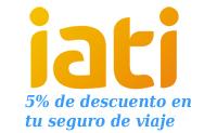 5% de descuento en tu seguro de viajes IATI